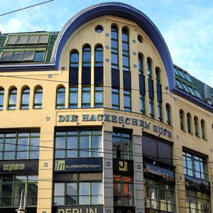 Hackesche Höfe in Berlin-Mitte