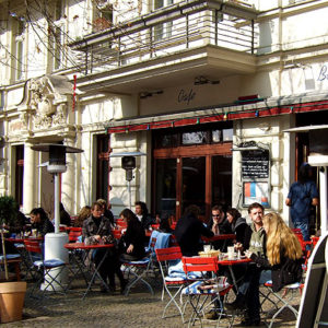 Café in Prenzlauer Berg